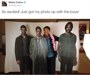 dean, funny, and jared image