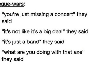 axe, concert, and funny image
