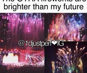 fireworks and one direction image