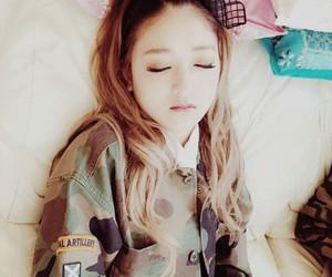 japanese girl, kawaii, and sleeping image