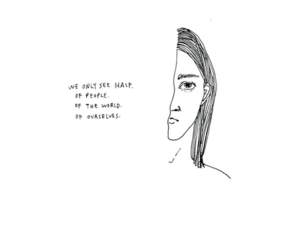 quote, drawing, and tumblr image