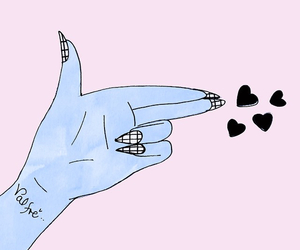 valfre, nails, and art image