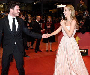cinderella, red carpet, and richard madden image