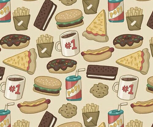 wallpaper, food, and pizza image
