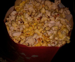 movie, popcorn, and the duff image