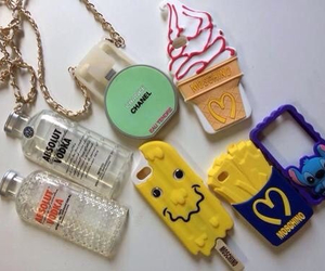 cases, chanel, and iphone image