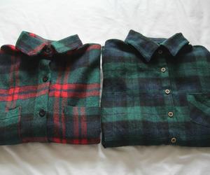 fashion, flannel, and kfashion image