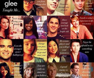 glee, cast, and quotes image