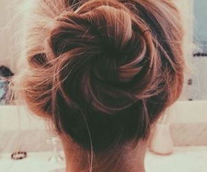 bun, formal, and hairstyle image