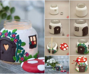 diy, house, and mushroom image