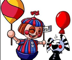 ballon boy, the puppet, and five night at freddy's 2 image
