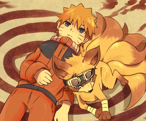naruto and kurama image
