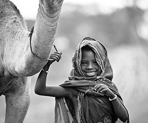 little girl, people, and culture image