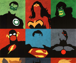 justice league and superman image