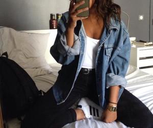blue, fashion style, and beautiful image
