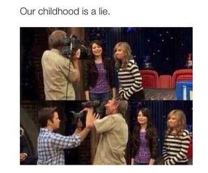 childhood and icarly image