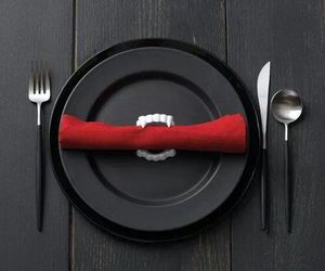 food, vampire, and vampire bite image