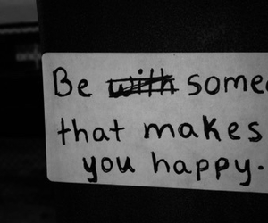 happy, quotes, and someone image