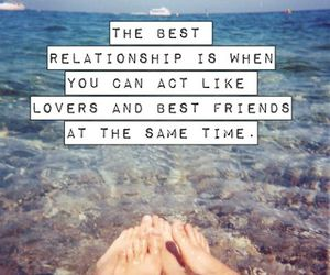 besties, lovers, and quote image