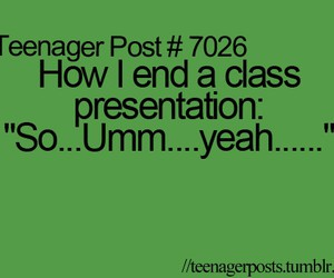 teenager post, funny, and presentation image