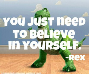 disney, quotes, and REX image