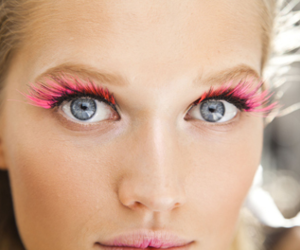 pink, model, and eyes image