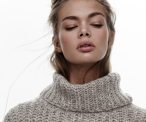 beauty, sweater, and turtle neck image