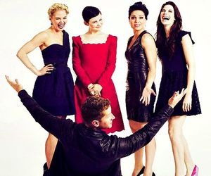once upon a time, lana parrilla, and ginnifer goodwin image