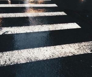 street, grunge, and rain image