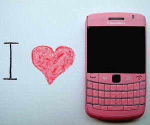 blackberry, pink, and love image