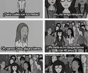 reality, Daria, and depression image