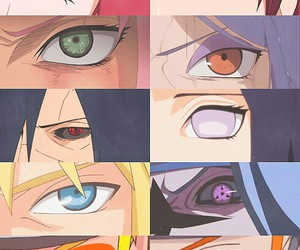 naruto, anime, and eyes image