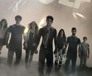 cast, sign, and teenwolf image