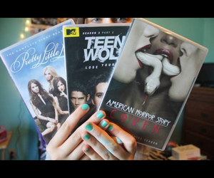 pll, teenwolf, and ahs image