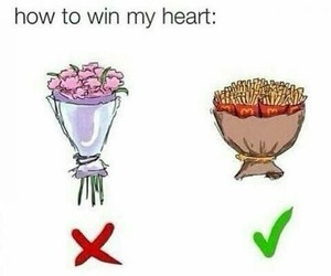 flowers, food, and funny image