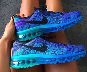 blue, fit, and nike image