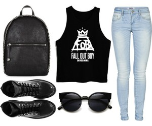 band, clothes, and fall out boy image