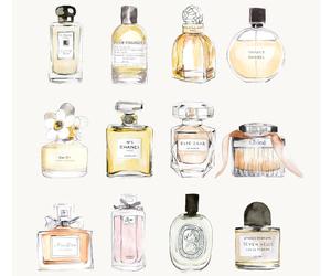 perfume, chanel, and art image