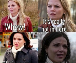 once upon a time, ouat, and swanqueen image