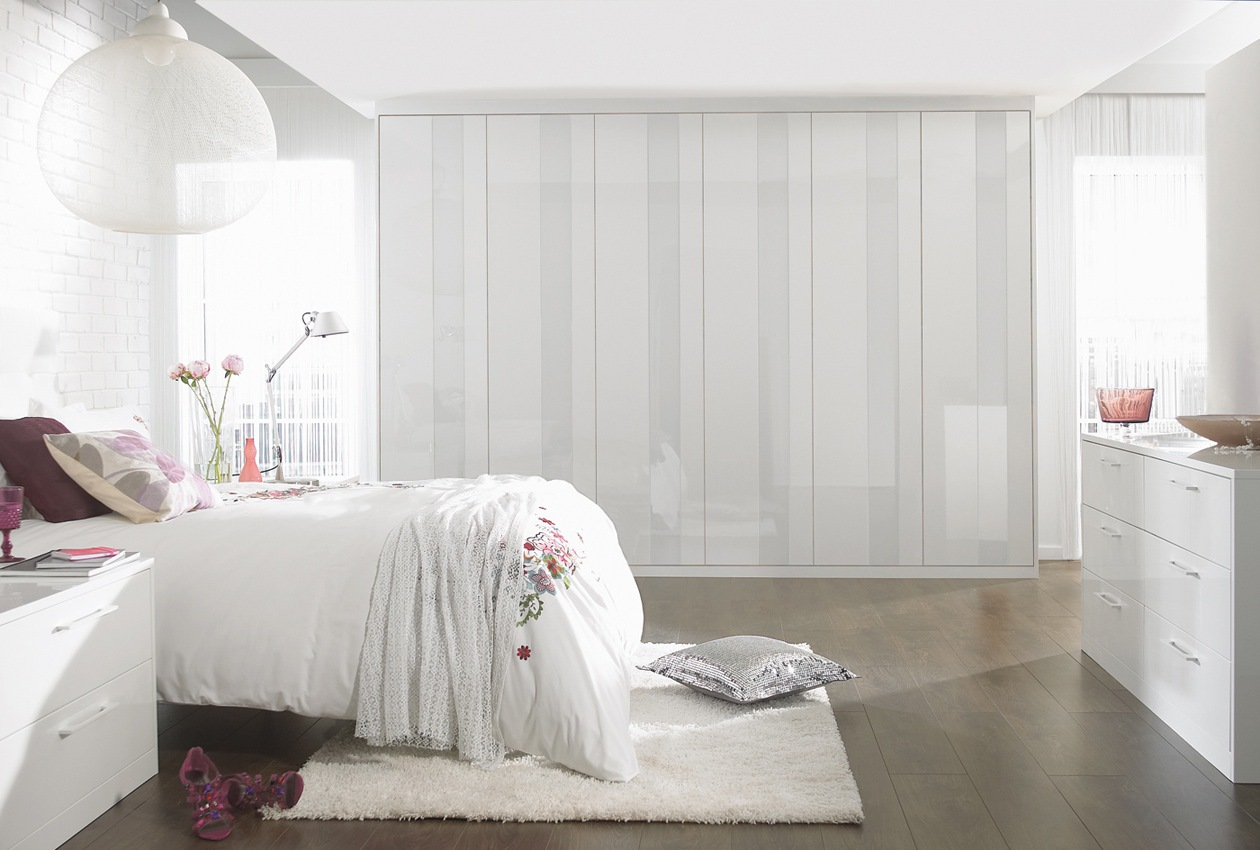 Pure White Bedroom Furniture - Sharps on We Heart It