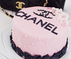 cake, chanel, and yum image