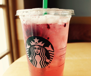hibiscus, starbucks coffee, and redberry image