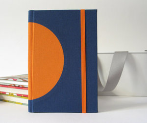 blue, bookbinding, and handmade image
