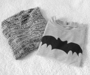 fashion, batman, and sweater image