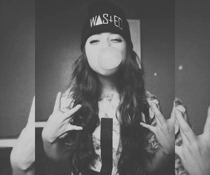 girl, dope, and swag image