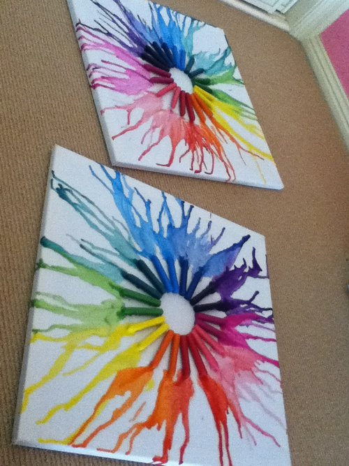 Amazing things to do with crayons babycenter for Things to do with mini canvases