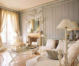 shabby chic living room image