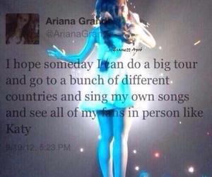 ariana grande, tweet, and twitter image