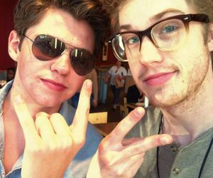 damian mcginty, cameron mitchell, and cameron image