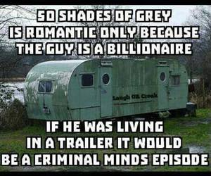 criminal minds, fact, and funny image